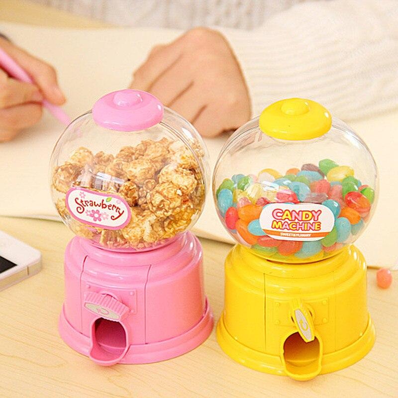 Máquina de caramelos kumbara, dulces bonitos para niños, hucha, Burbuja, dispensador de caramelos, caja de dinero para cajero automático, regalo de cumpleaños, Gumball