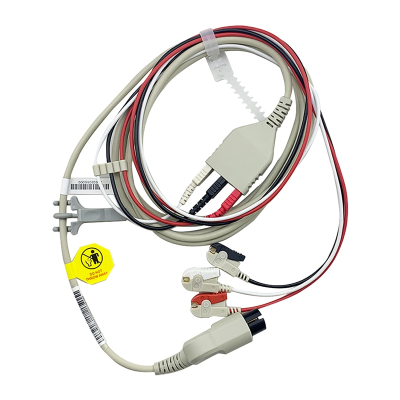 ECG3-lead Trunk Cable Clip Lead Set(AAMI) 98ME 98ME01AA321 for Goldway Patient Monitors