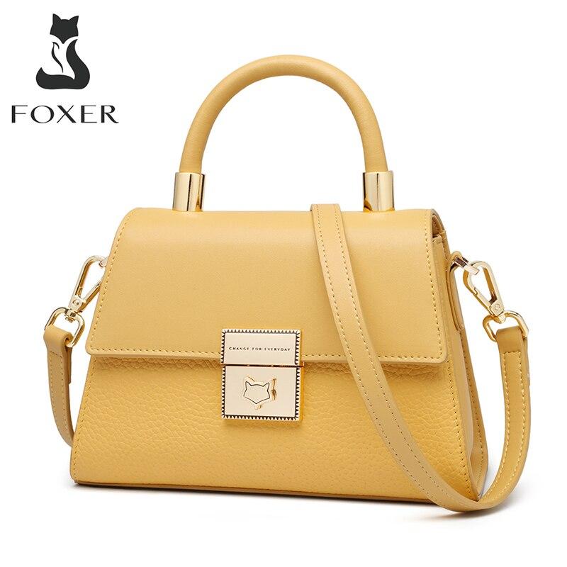 Foxer designer feminino ombro lidar com saco à moda senhoras casual cross-corpo mensageiro sacos de alta qualidade feminino pequenos totes