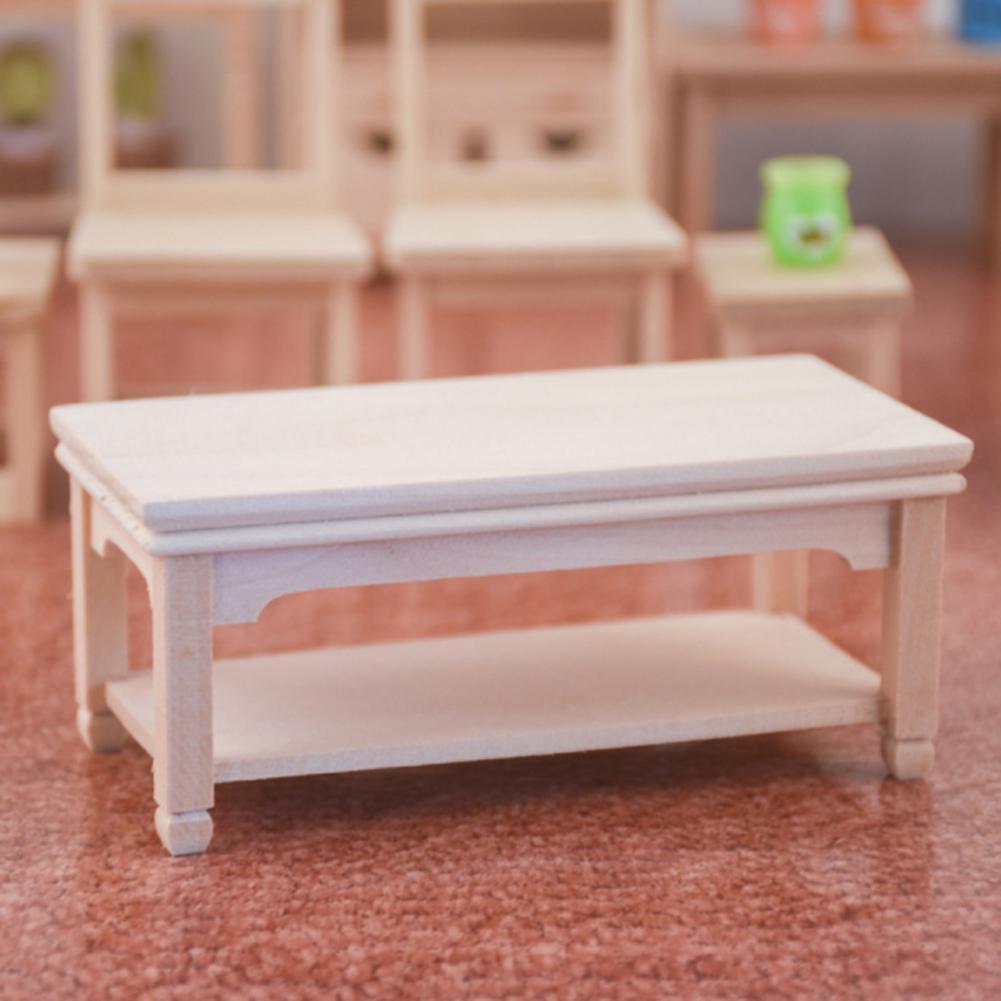 Фото - 1/12 миниатюрный кукольный домик, одиночный диван, домашняя мебель, игровой набор, модель, игрушка, орнамент, прямоугольный кофейный столик, б... кукольные домики и мебель наша игрушка игровой набор кукольный домик 12 предметов