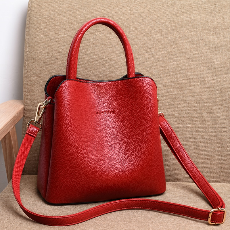 Luxury Handbags Women Bags Designer High Quality  Leather Handbags Casual Tote Bag Ladies Shoulder Messenger Bags sac a main