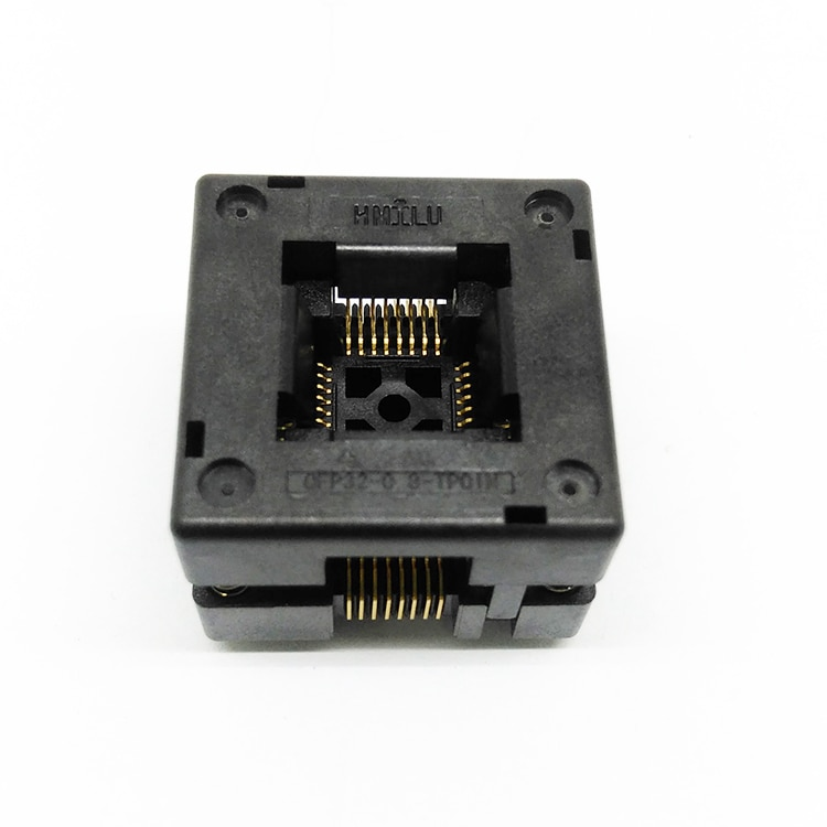 2 ATMEGA8A-AU SA663 solte General QFP32 adaptador/enchufe de encendido/enchufe de prueba 0,8