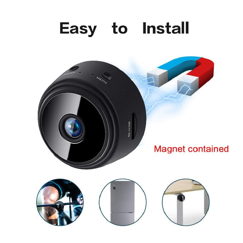 Mini HD 1080P Wireless WiFi Video Record DV Home Security Night Vision IP Magnetic Camera Surveillance Remote Detection Camera