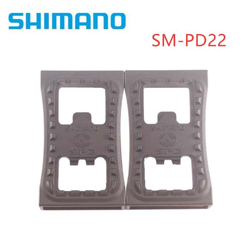 Shimano SM-PD22 SPD Cleat plano PD22 Pedal MTB bicicleta de montaña pedal para M520 M540 M780 M980 pedales sin recorte