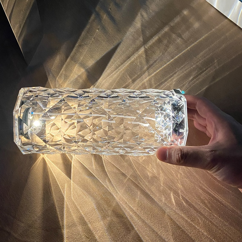 VONDOM Spain Imported Light Romantic Luxury Touch European Crystal Table Lamp Living Room Diamond Lamp Restaurant Table Lamp