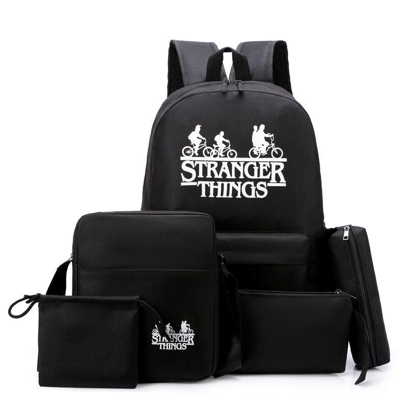 Рюкзак для мужчин и женщин, модная сумка-мессенджер через плечо, кошелек для мелочи, чехол-карандаш, 5 комплектов   АлиЭкспресс