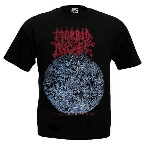 Camiseta Ángel mórbido Altars of Madness diferente tamaño nuevo