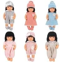 16 18 inch doll wool clothes accessories dressonesieshatssocks outfits fit 43cm newborn baby zapf doll nenuco dolls clothing
