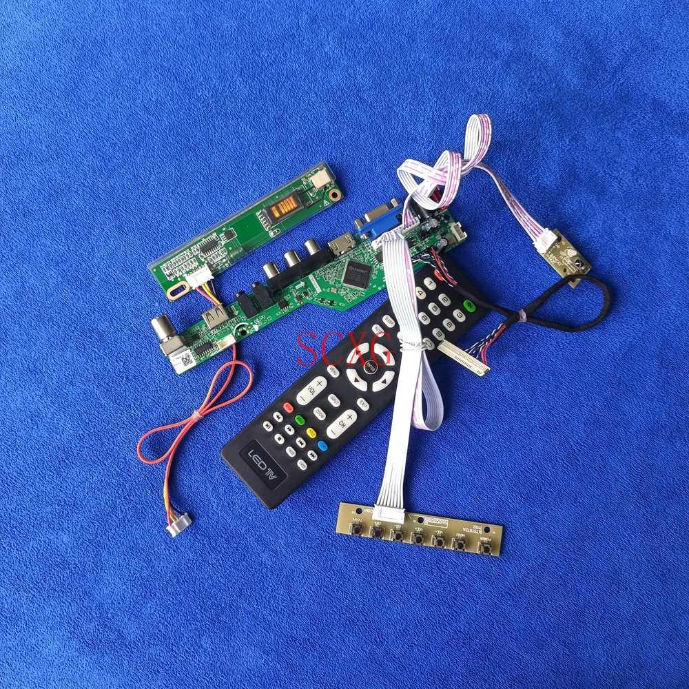30Pin LVDS 1440*900 شاشة LCD كارت قيادة 1CCFL عدة التناظرية AV VGA USB HDMI-متوافق صالح LP171WP4-TL03/TLA1/TLB1/TLN1/TLQ1/TLR1