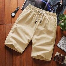 2020 cotton shorts men's summer loose casual five-point pants sports beach pants pants big pants