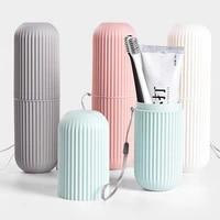 Brosse a dents Portable de voyage  organisateur de voyage  tasse de rangement domestique  support exterieur  accessoire de salle de bain
