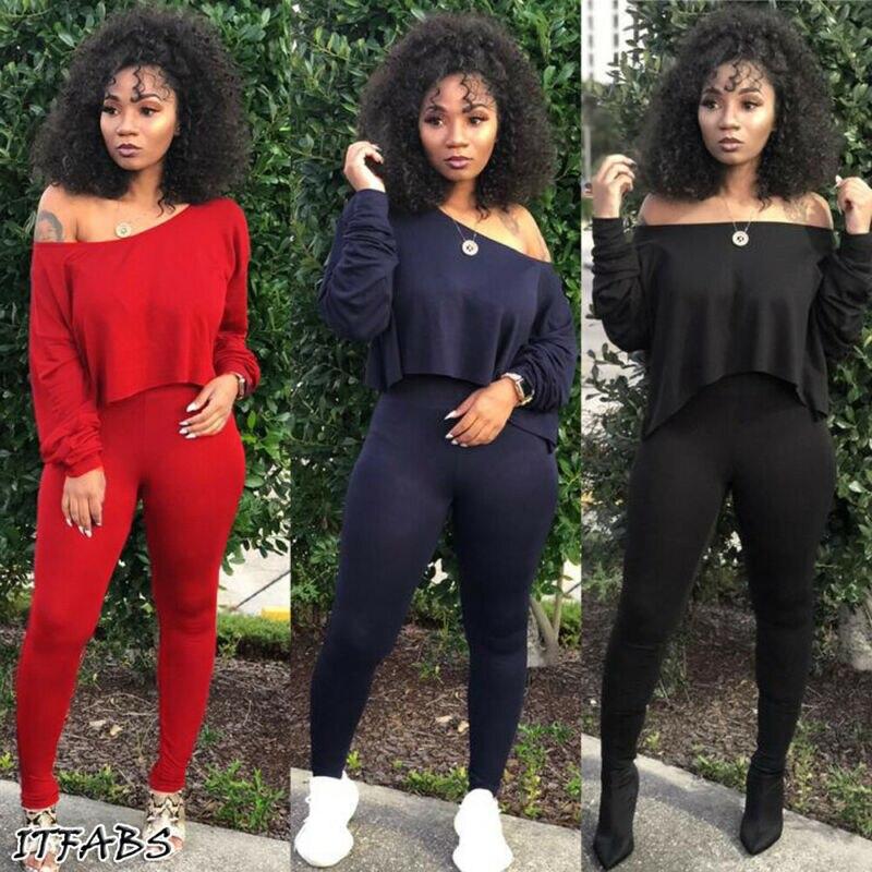 Conjunto de 2 uds. De sudaderas de algodón para mujer, rojo, negro y amarillo, Conjunto de jersey de dos piezas para verano
