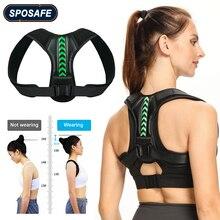Adjustable Back Shoulder Posture Corrector Belt Clavicle Spine Support Reshape Your Body Home Office