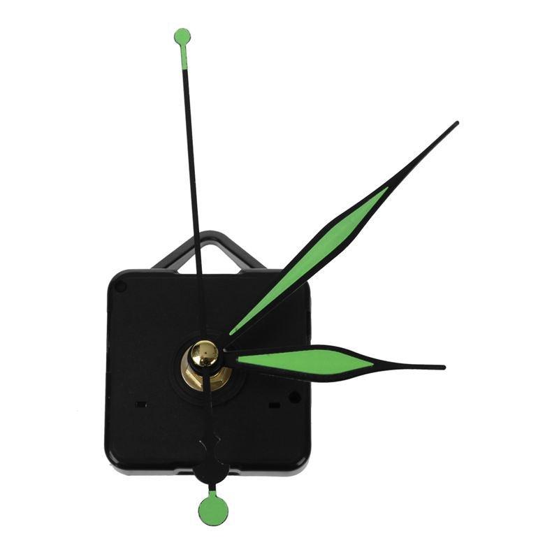 Kit de herramientas de reparación de mecanismo de movimiento de husillo de reloj de cuarzo luminoso 2 uds