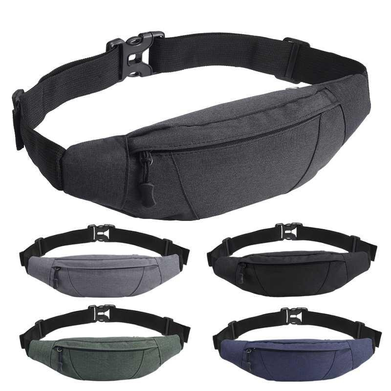 2020NEW Waist bag Men's and women's outdoor sports multifunctional waterproof personal coin purse pockets