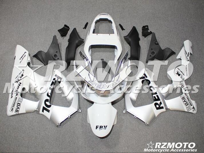 4 presentes novo kit de carenagens abs apto para honda cbr 929rr 929 2000 2001 cbr929rr 00 01 cbr 900rr carenagem conjunto personalizado prata repsol