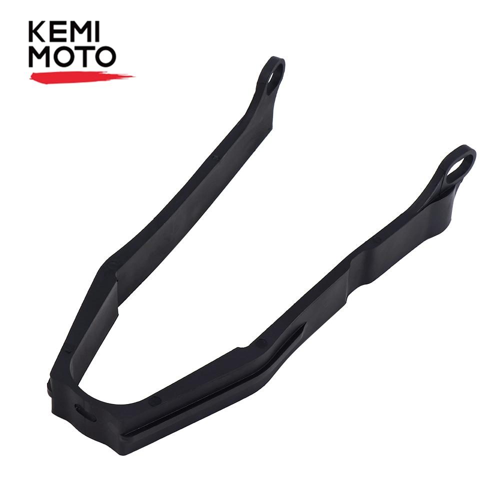 KEMIMOTO negro cadena deslizante para motocicleta para Honda XR400 R 96-04 XR600 R 1991-2000 XR650 L 93-12 de goma