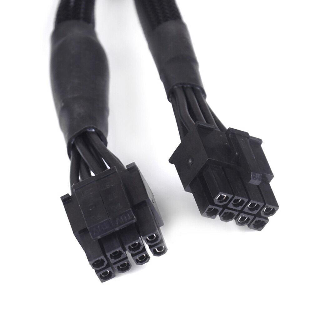 Black CPU 8Pin to 8(4+4)-Pin Modular Power Supply Cable for  Corsair RM550X RM650X RM750X RM850X RM1000X