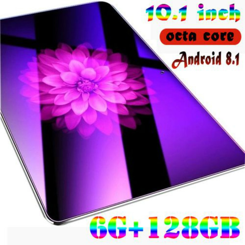 2020 New Hot 10 inch 2.5 D Screen Tablet PC  4G LTE Octa Core 6GB RAM 128GB ROM Dual SIM Cards Andro