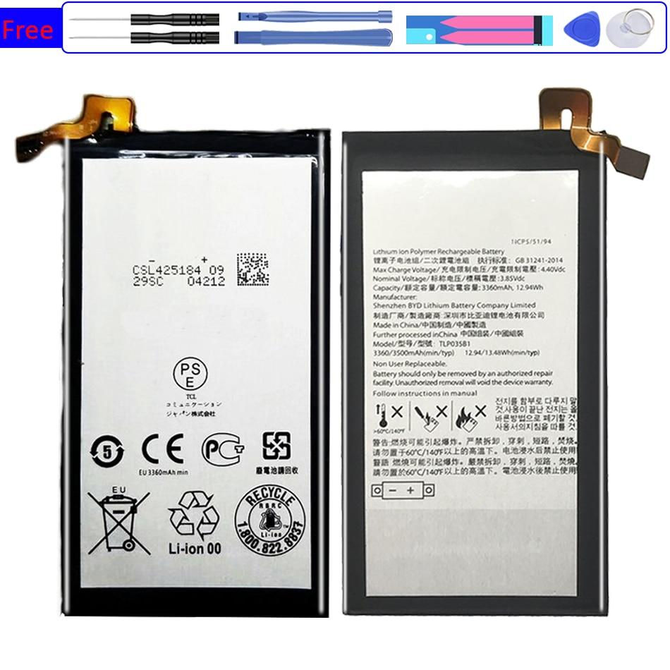 Batería TLP035B1 para teléfono inteligente, 3500mAh, para BlackBerry Keytwo KEY2 KEY 2