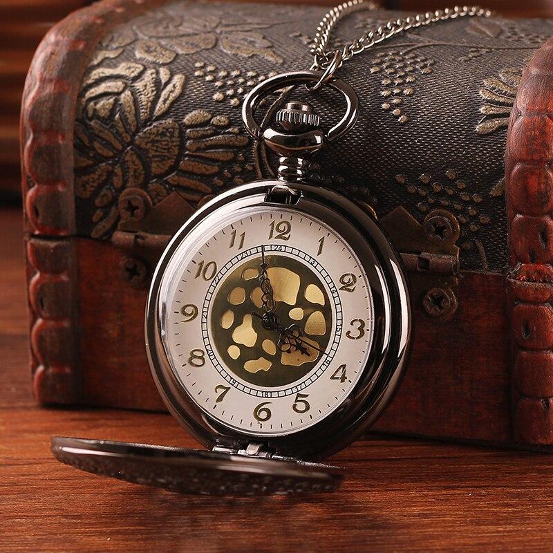 Top Quality Alloy Women Pocket Watch Hollow Design Antique Bronze with Long Chain Quartz Ladies Pendant Watch Relogio Masculino