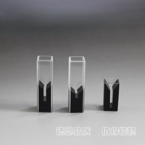 تخصيص 100ul منحرف الفم كوفيتس تخصيص مختلف الأشعة فوق البنفسجية مايكرو الترا تتبع الكوارتز كوفيتيس