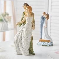 home decor figure resin couple model dancer living room office desk anniversary christmas gifts character resin decoration craft