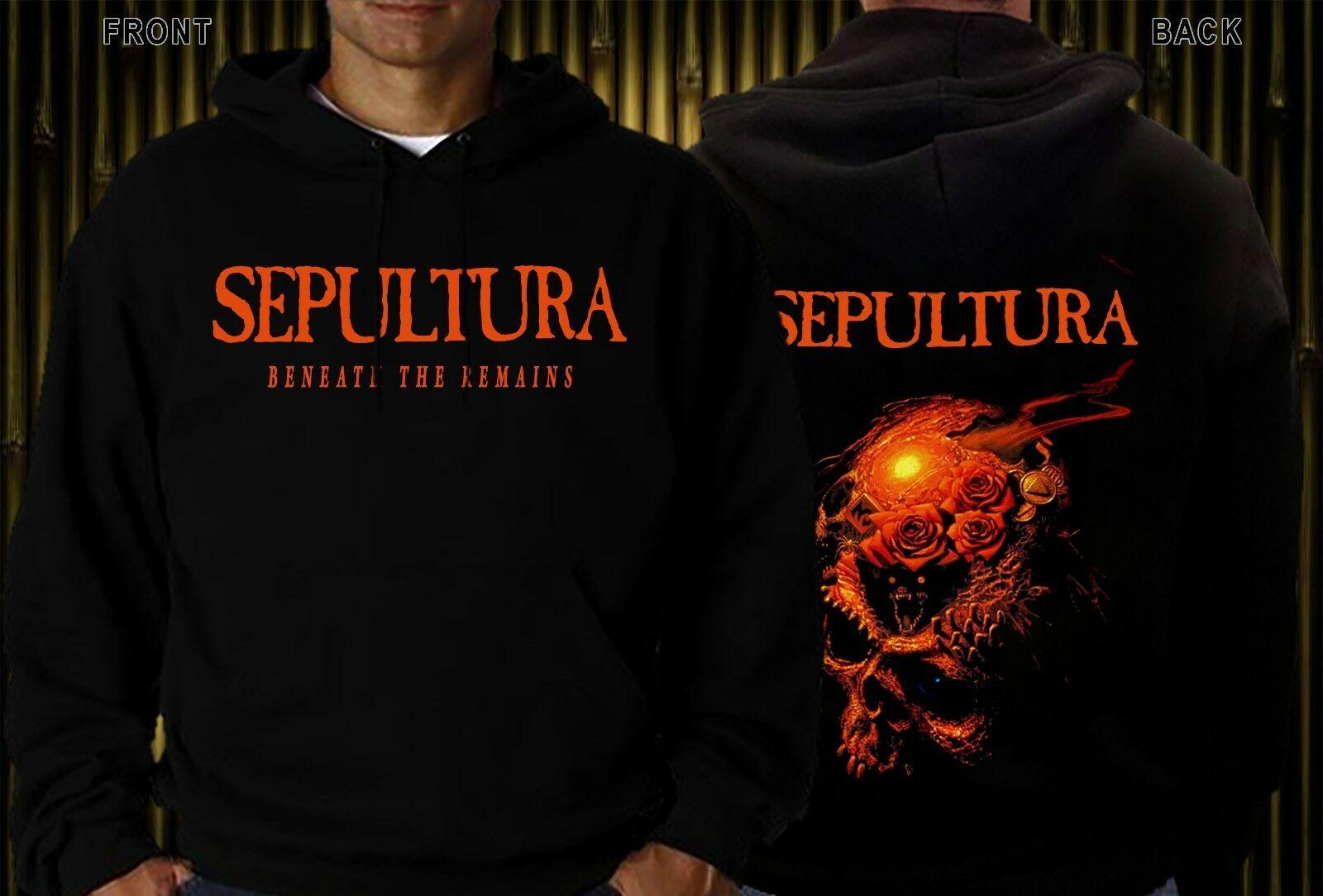 Sepultura sob o ainda-canal de metal south kreator, hoodie & swearshirt-tamanhos s a xxl
