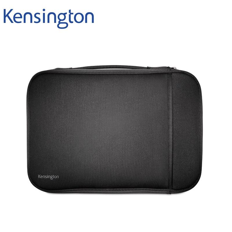 Kensington Tablet Notebook Sleeve Bag Case Interior Fleece Lining for iPad for Macbook Air Pro 11/13 inch Laptop K62609/K62610WW