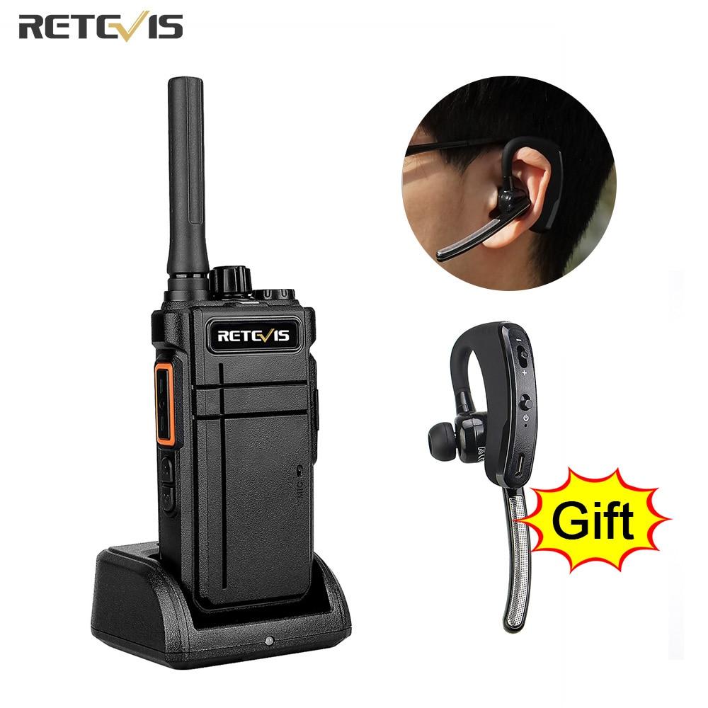 ريتيفيس لاسلكي تخاطب بلوتوث متوافق RB637 PTT PMR446 FRS اتجاهين راديو راديو محمول لاسلكي لمطعم الفندق