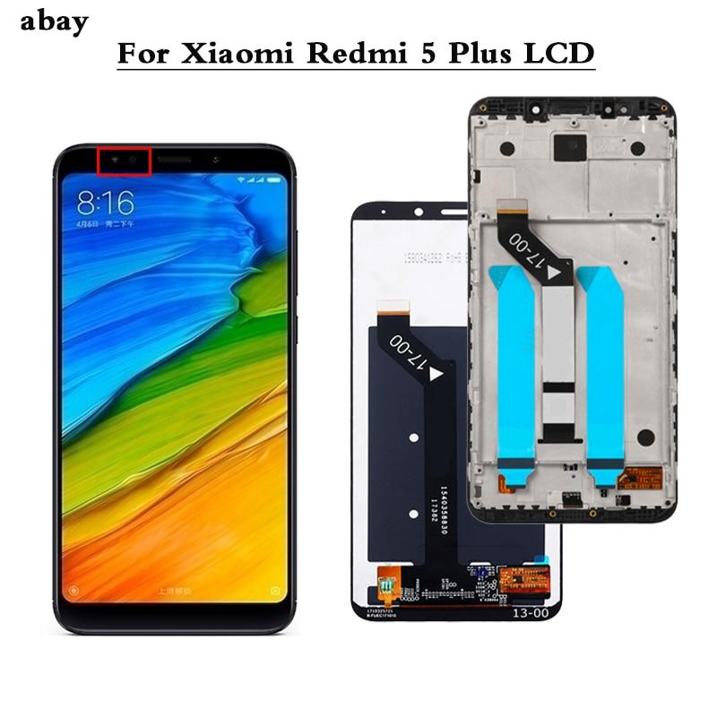 5.99 pollici Display LCD Per Xiaomi Redmi 5 Più Schermo LCD 100% Testato Display LCD + Assemblea di Schermo di Tocco di Riparazione parte