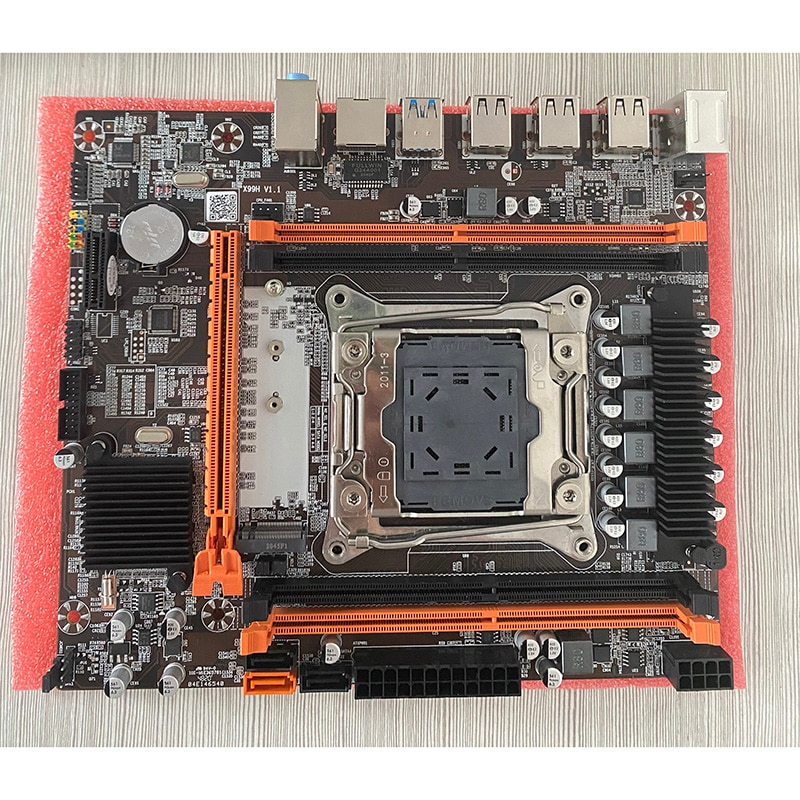X99 LGA2011-3 motherboard with E5 2620 V3 processor CPU Accessories DDR4 2pieces RAM memory kit