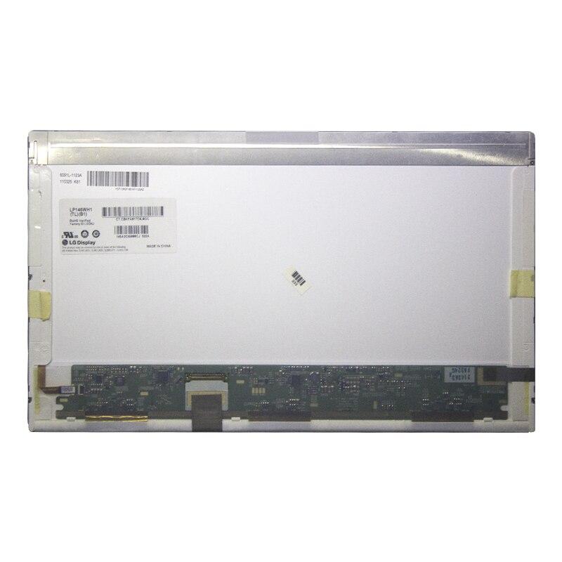 Para hp dv5 portátil lcd tela led matriz 1 pedido 14.5 lp145wh1 tlb1 polegada LP145WH1-TLA1LTN145AT01