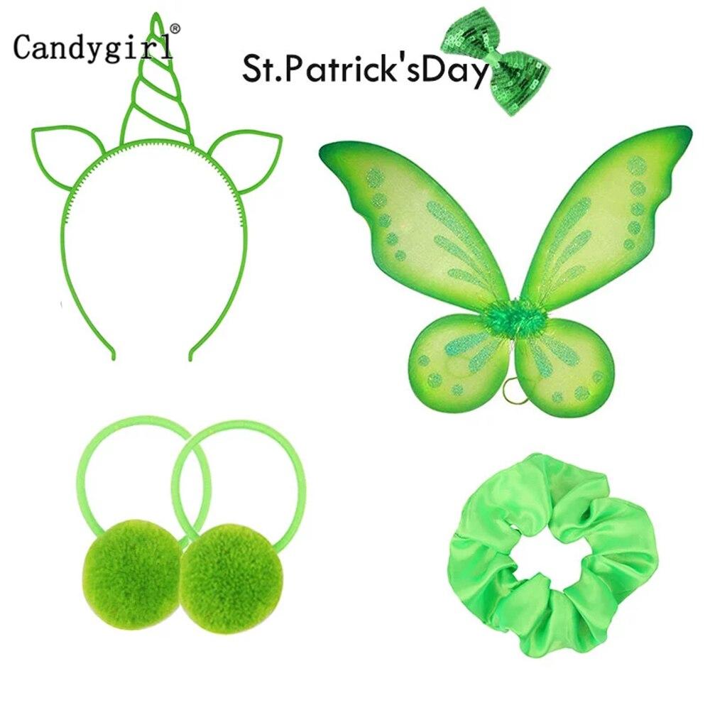 AliExpress - Irish St Patricks Day Headband Funny Creative Green DIY Headwear Party Hair Bands Clips Ties Hoops Accessory