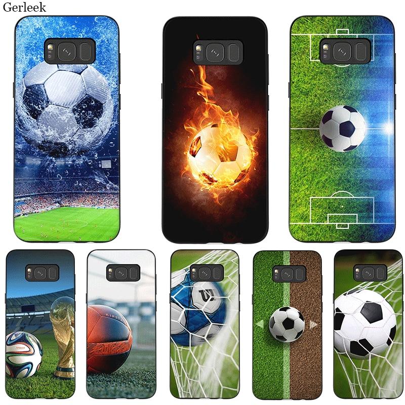 Funda de silicona para teléfono móvil Samsung J4 J6 J7 Duo A2 Core A3 A5 A6 A7 A8 A9 Plus Prime fútbol brasileño Alemania Suecia