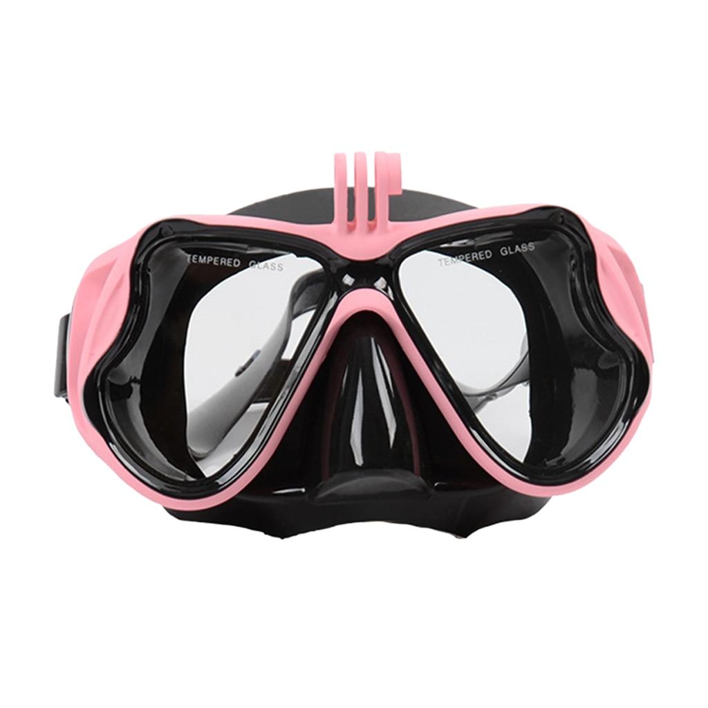 Gafas de submarinismo máscara de buceo Scuba máscara de esnórquel antiniebla para adultos-5 colores para elegir