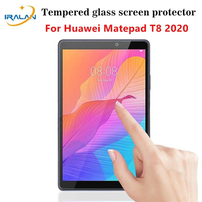 Protector de pantalla de vidrio templado para Huawei MatePad T8, 8,0 pulgadas, 9H, película protectora para tableta para Matepad T 8 2020 Kobe2-L03 KOB2-L09
