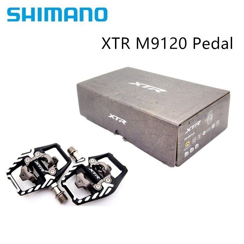 Shimano-Juego de pedales de carrera para bicicleta de montaña, pedal de PD-M9120...