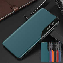 Smart Flip Case For Samsung Galaxy S20 S9 S8 S10 S7 Plus Note20 Note10 kickstand leather cover for samsung A30 A40 A50 A70 A51