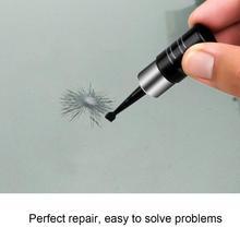 Réparation de verre fluide de voiture   Lame de pare-brise de voiture, Nano réparation de verre de voiture, bricolage rayure, outil de réparation de vitres TSLM1