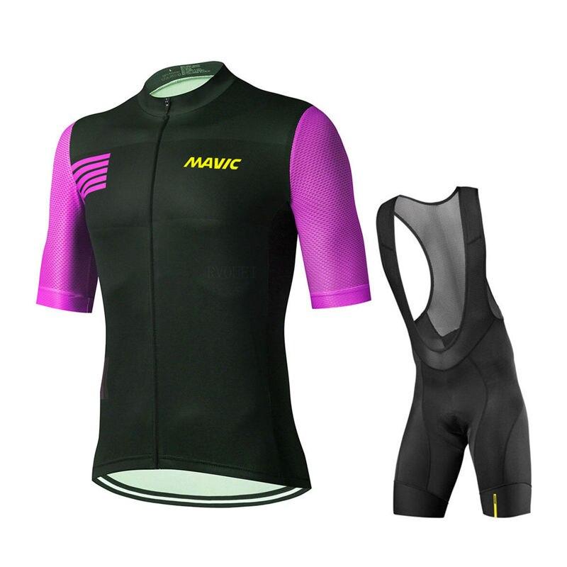 Mavic-Maillot de Ciclismo Pro Team para hombre, ropa para bicicleta de montaña,...