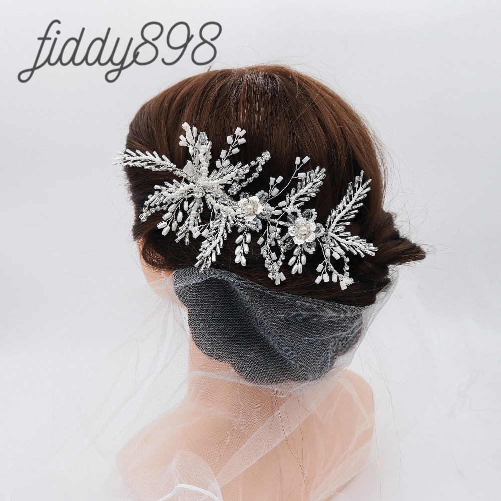 Accesorios para el pelo de la boda de la novia de moda...