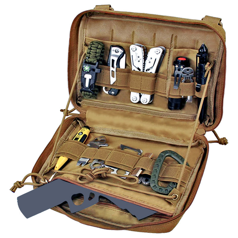 Molle Military Pouch Bag Medical EMT Cover Tactical Package Outdoor Camping Hunting Utility Multi-tool Kit Accessories EDC Bag military molle admin pouch tactical multi medical kit bag utility tool belt edc pouch for camping hiking hunting 2018