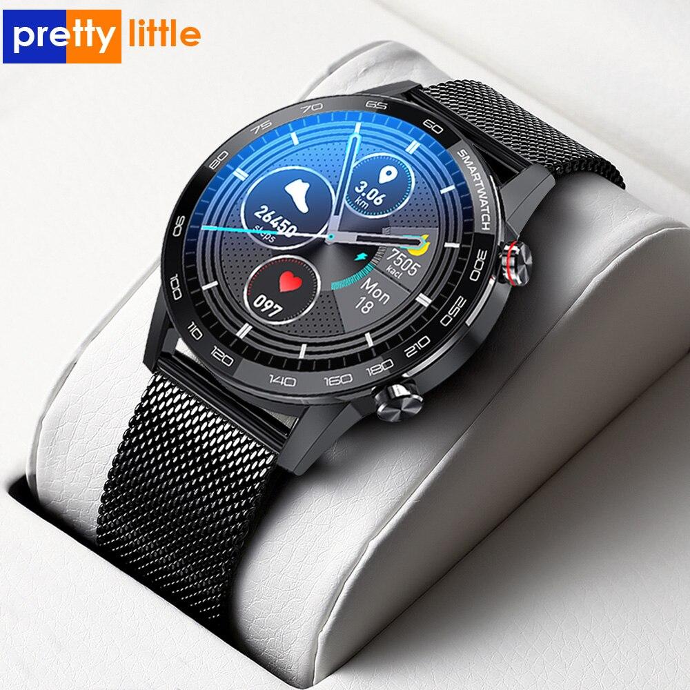 PL16 Smart Watch Men ECG PPG IP68 Waterproof Smartwatch 1.3inch 360*360 HD Full Touch Screen Fitness Sports Watchs