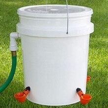 12 adet tavuk içme bardağı besleme otomatik kuş Coop tavuk tavuk tiryakisi su içecek bardakları besleme malzemeleri 2.18