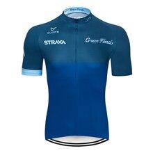 2021 NEUE STRAVA Radfahren Jersey MTB Maillot Bike Hemd Downhill Jersey Hohe Qualität Pro Team Tricota Berg Fahrrad Kleidung