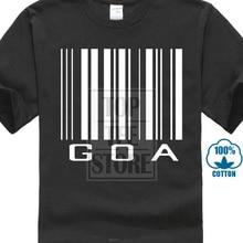 2019 Gilden homme/garçon cadeau Goa code à barres 3D imprimé t-shirts hommes col rond manches courtes t-shirts