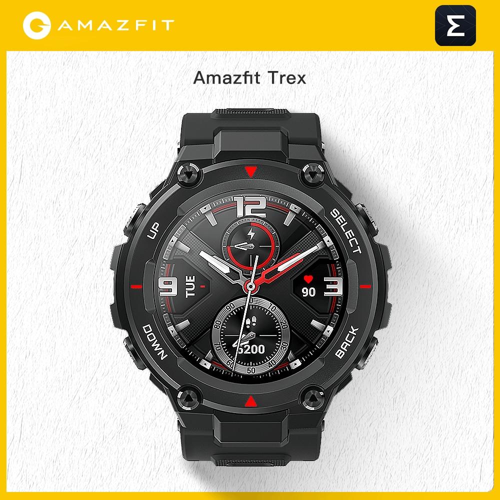 جديد سيس Amazfit T ريكس T-rex Smartwatch التحكم في الموسيقى 5ATM ساعة ذكية لتحديد المواقع/غلوناس 20 أيام عمر البطارية MIL-STD لنظام أندرويد