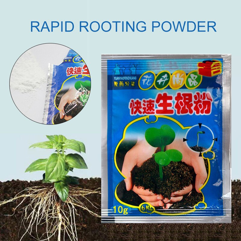 Fast Rooting Powder Plant Rapid Rooting Agent Hormone Growing Root Seedling Germination For Most Pla
