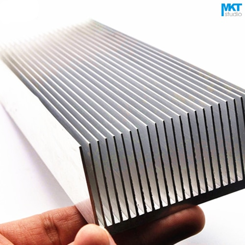 1Pcs 250x69x36mm Comb Type Aluminum Alloy Cooling Fin Radiator Heat Sink For TO-3P, MOS, IC, Amplifier, Power